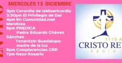 Cristo Rey Radio En Vivo Miercoles 13 Diciembre 3pm a 7pm