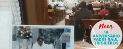Misa 49 Aniversario Sacerdotal Padre Raul Trigueros Parroquia San Pedro Y San Pablo