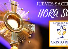 HORA SANTA  Hora Santa Padre Pedro Justo Berrío, A Solas Con El Señor