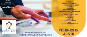 Cristo Rey Radio En Vivo  Martes 19  Junio   2pm a 6pm