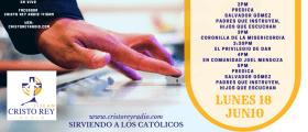 Cristo Rey Radio En Vivo Lun 18 Junio 2pm a 6pm