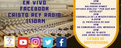 Cristo Rey Radio En Vivo Lun 10 Sept 2pm a 6pm