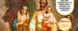 San José, heredero de las bendiciones, integra las polaridades humanas