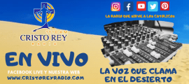 Cristo Rey Radio En Vivo  MIercoles 20 Nov  6:00am a 2pm