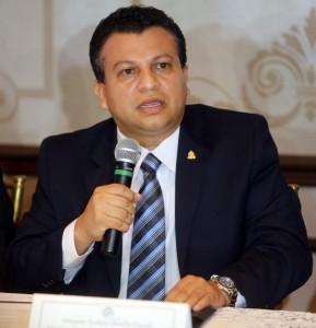 Teodro Bonilla, vice presidente del Consejo de la Judicatura.