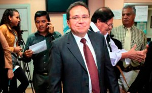 Enrique Flores Lanza, estaría en Nicaragua.