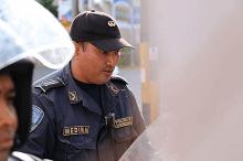 policía de apellido Medina fue quien agredió a Miguel Briceño.