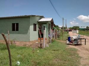 Los pobladores de la colonia..aseguran que tienen más de tres años de residir en este lugar.