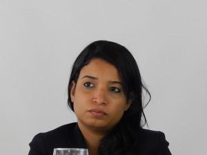 Ivania Galeano, asesora de Comisión Internacional de Juristas .