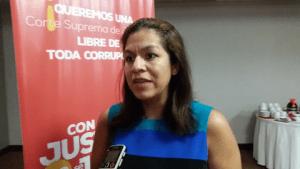 Marcia Aguiluz, directora de CEJIL para Centroamérica y México