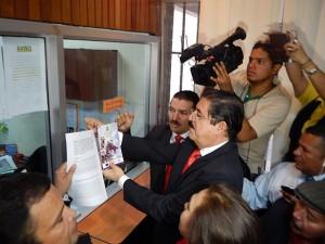 Diputados presentan recurso de nulidad contra la reelección ante la Corte Suprema de Justicia.