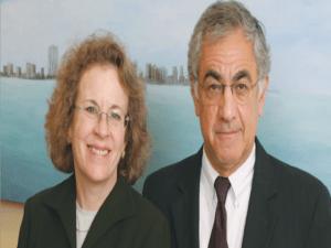 Norman y Jane Moscowitz, junto a Alan Dershowitz, conforman el grupo de abogados defensores de los Rosenthal en los Estados Unidos.