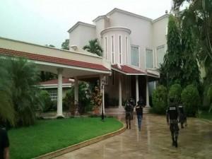 Una de las mansiones incautadas a la familia Rosenthal.