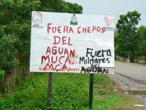 Los campesinos rechazan la militarización de la zona