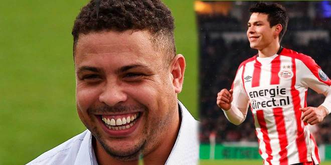 Ronaldo y el mensaje que envió a Hirving Lozano