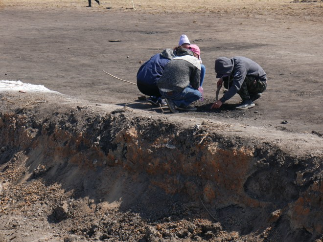 Persiste en San Primitivo, Tlahuelilpan, olor a desesperación Foto: Federico Escamilla