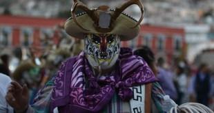 Proponen que carnaval y cuernudos de Calnali sean patrimonio cultural