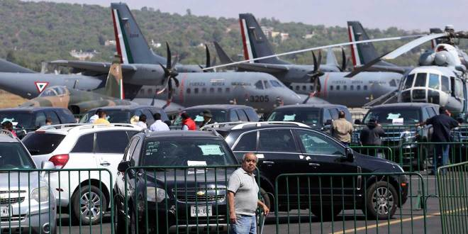 Obtienen 60 mdp por subasta de autos en Santa Lucía