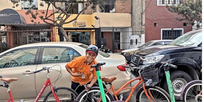 A pedalear y comer por Lima