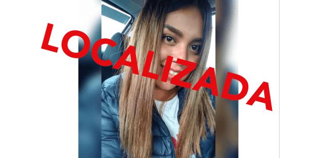 LOCALIZADA Se busca a Areli Romero Pérez