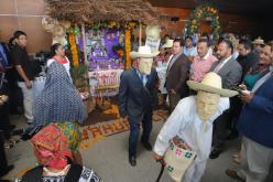 La celebración del Xantolo se dará en los 84 municipios de Hidalgo. Foto: Luis Soriano