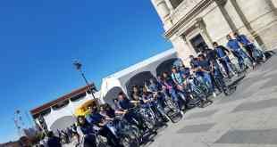 Este sábado, Bella Airosa sobre ruedas, por las calles de Pachuca.