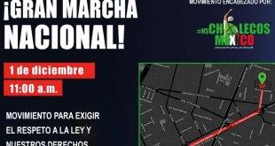 Convocan a marcha contra Gobierno de López Obrador