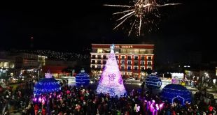 Realizarán encendido de árbol y villas navideñas en el Reloj de Pachuca