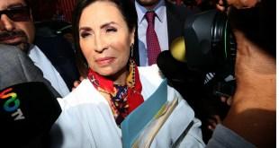Rosario Robles presenta queja ante CNDH contra MP federal