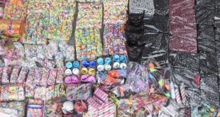 Denuncian venta de pirotecnia en la zona centro de Tizayuca