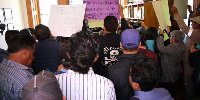 Sindicalizados de alcaldía de Pachuca acusan servicio médico deficiente