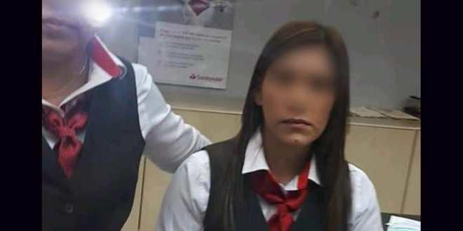 """Asaltan a cuentahabiente en Veracruz; acusa a cajera de dar el """"pitazo"""" (VIDEO)"""