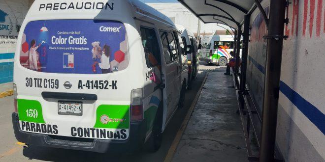Por aeropuerto, reordenarán el transporte en Tizayuca