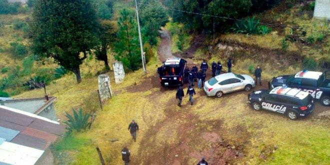Rescatan a familia perdida en zona boscosa de Mineral del Chico