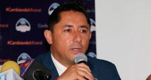 Raúl Camacho alcalde de Mineral de la Reforma