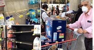 Alertan alza en costo de cubrebocas y gel antibacterial