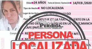 Localizan a Teresa de Jesús Fragoso, quien estaba extraviada en Pachuca