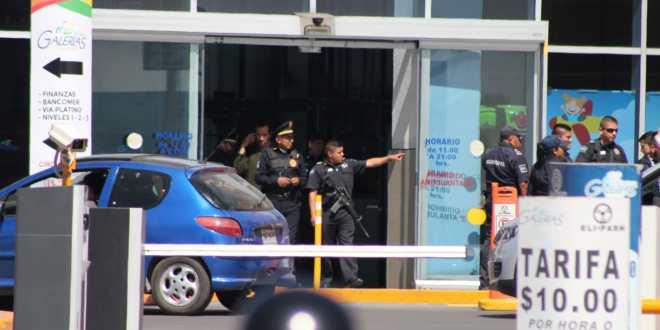 Tras asalto en El Tezontle, implementan operativo de búsqueda en plaza