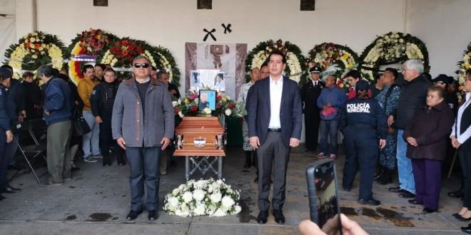 Homenajean a policía de Tula que fue emboscado