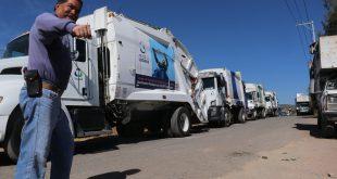 Ejidatarios cierran el relleno sanitario de El Huixmí, en Pachuca