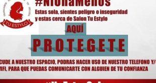 Negocios se unen a campaña contra la violencia machista en Huejutla