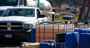 Devuelven FGR 80 mil litros de hidrocarburo a Pemex en Hidalgo
