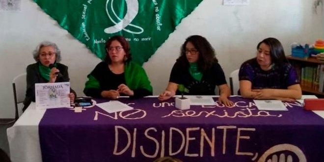 Mujeres no necesitan permiso para manifestarse: Marea Verde