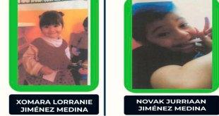 Xomara Lorranie Jiménez Medina y Novak Jurriaan Jiménez Medina