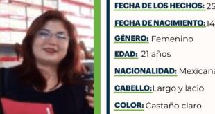 Se busca a Blanca Paloma Vargas Ríos, extraviada en Tulancingo