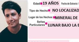 Buscan a Rodrigo Fernández, se extravió en Mineral de la Reforma
