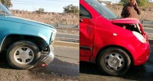 Se presentan varios accidentes automovilísticos en Pachuca