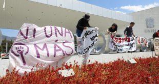 Instalan tendedero de denuncias en la Ciudad Universitaria