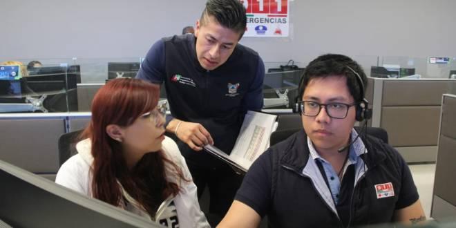 A través del 911, médicos atienden casos de Covid-19 en Hidalgo