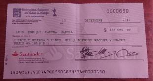 Niega Morena pago en cheques de la UAEH